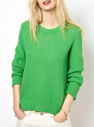 Sweater calado colores