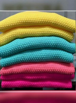 Sweater calado colores panal