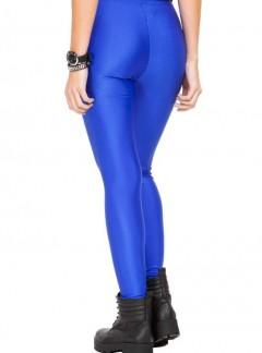 calza lycra azul