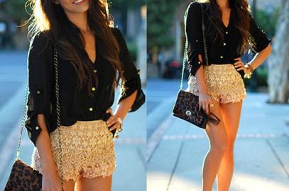 Shorts a Crochet