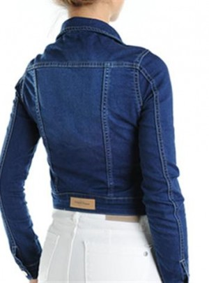 Campera de Jean azul