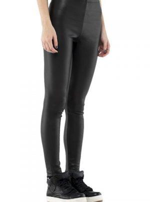Calza engomada color negro