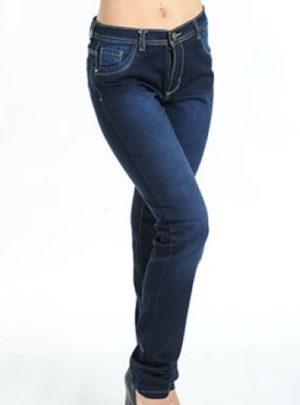 Jean tiro alto azul oscuro. Inquieta. Talle 44 al 54