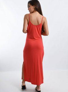 Vestido modal largo