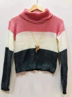 Sweater polera tricolor. Varios colores