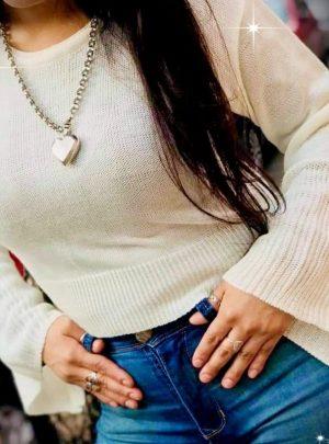 Sweater manga oxford. Varios colores