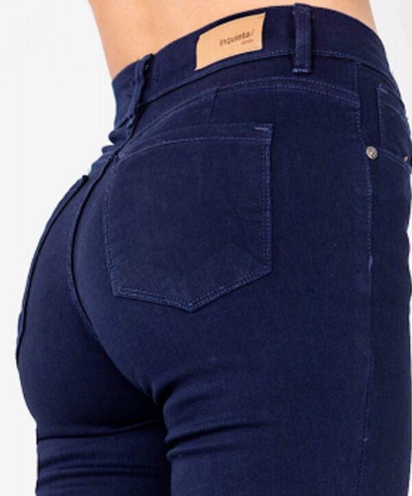 Jean mujer chupin azul oscuro
