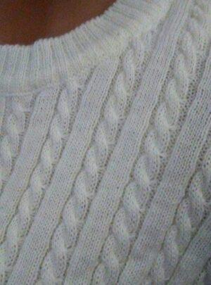 Sweater trenza. Varios colores