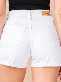 Short de jean blanco rigido Inquieta. SH48