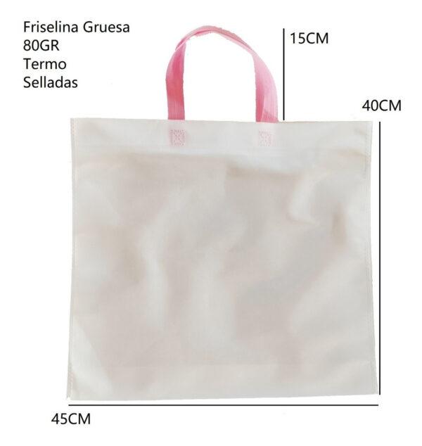 Bolsa De Friselina Ecologica 45x40 cm