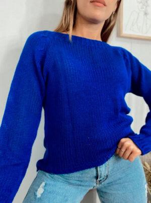 Sweater liso media cola