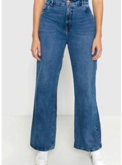 Jean Wide Leg azul Inquieta. CH664